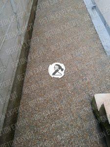 allee desactive beton