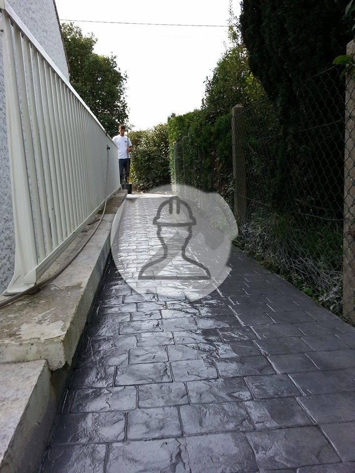 Galerie beton imprime nos projets et les motifs designs for Beton lisse exterieur belgique