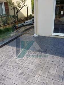 beton imprime californienne