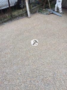 le sol en beton desactive