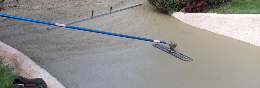 Comment déterminer l'épaisseur d'une dalle de béton?