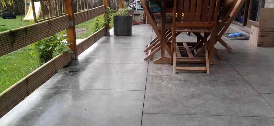 Le béton lissé pour terrasse exterieure, qu'est-ce que c'est?