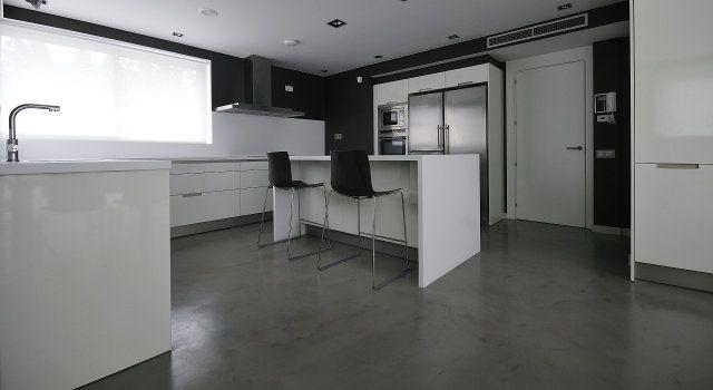 béton ciré pour interieur (cuisine)