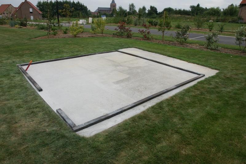 Comment faire une dalle en béton pour un abri de jardin ?