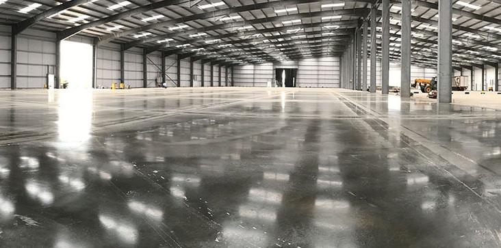 Dalle béton pour hangar agricole